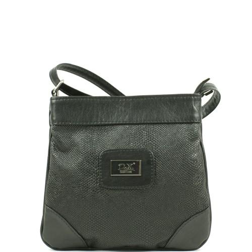LD003 czarna torebka listonoszka producenta torebek damskich Dawidex