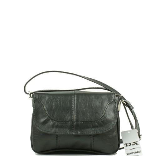 LS011 czarna torebka listonoszka producenta torebek damskich Dawidex dostępna w hurtowni interneowej