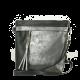 LD069 czarno-grafitowa listonoszka Dawidex
