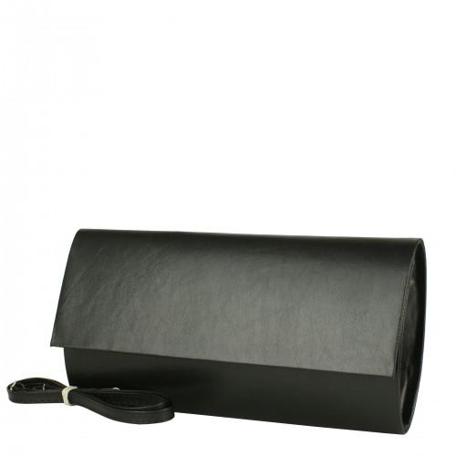W1 czarna kopertówka producenta torebek damskich Dawidex