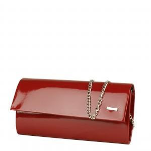 W9 czerwona kopertówka producenta torebek damskich Dawidex