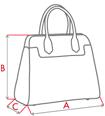 Wymiary torebki damskiej producenta torebek damskich Dawidex